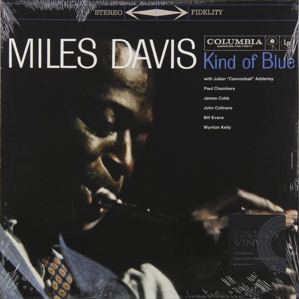 Miles Davis Miles Davis - Kind Of Blue miles davis jazz cd