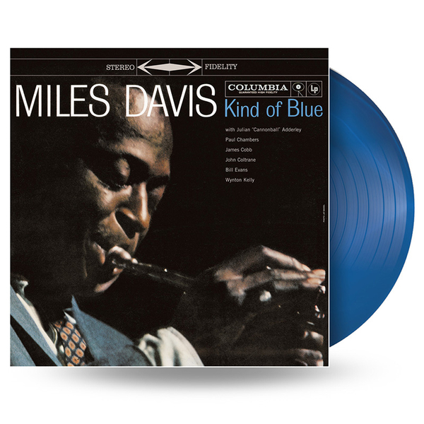 Miles Davis - Kind Of Blue (colour)
