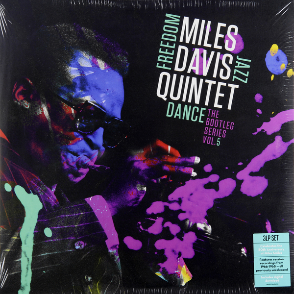 Miles Davis Miles Davis - Miles Davis Quintet: Freedom Jazz Dance: The Bootleg Series, Vol. 5 (3 LP) miles davis jazz cd