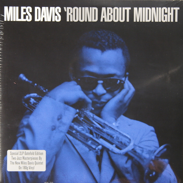Miles Davis Miles Davis - Round About Midnight (2 Lp, 180 Gr) Not Now Music miles davis miles davis agharta 2 lp 180 gr