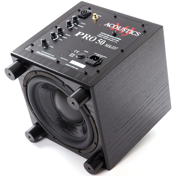 Активный сабвуфер MJ Acoustics Pro 50 MKIII Black Ash