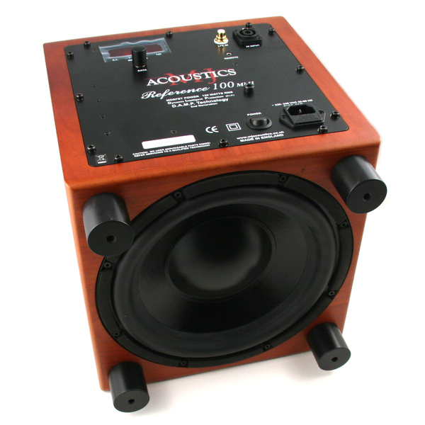 Активный сабвуфер MJ Acoustics Reference 100 MKII Cherry активный сабвуфер mj acoustics reference 1 mkiv cherry