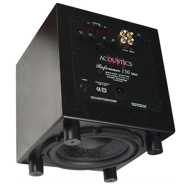 Активный сабвуфер MJ Acoustics Reference 150 MKII Black Ash