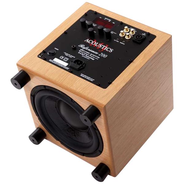 Активный сабвуфер MJ Acoustics Reference 200 Oak bask fast mj z4253
