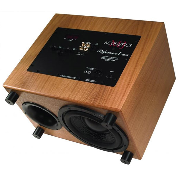 Активный сабвуфер MJ Acoustics Reference I MKIII Walnut активный сабвуфер mj acoustics reference i mkiii black ash