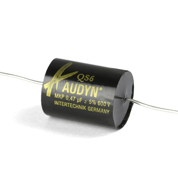 цена на Конденсатор Intertechnik MKP Audyn Cap MKP-QS6 600 VDC 0.47 uF