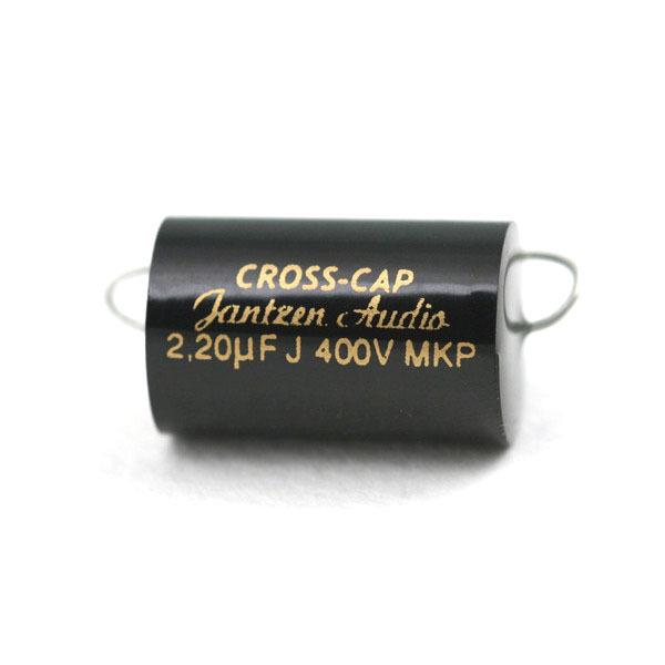Конденсатор Jantzen MKP Cross Cap 400V 2.2 uF конденсатор jantzen alumen z cap 100v 3 3 uf