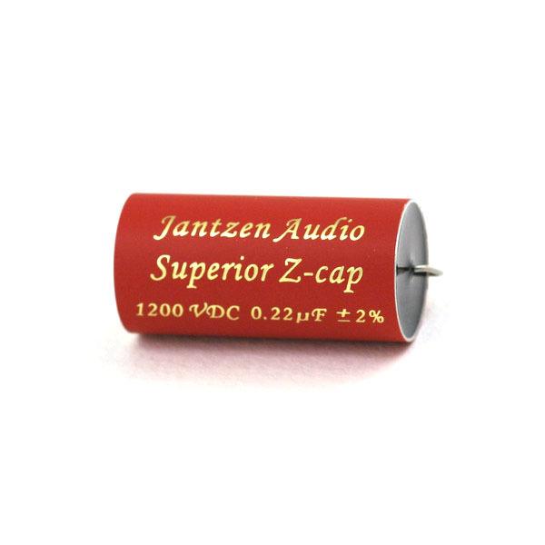 Конденсатор Jantzen MKP Superior Z-Cap 1200 VDC 2% 0.22 uF конденсатор jantzen alumen z cap 100v 3 3 uf
