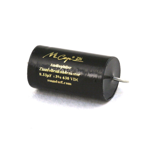 Конденсатор Mundorf MKP MCap-ZN 630 VDC 0.33 uF конденсатор mundorf mkp mcap zn 630 vdc 1 uf
