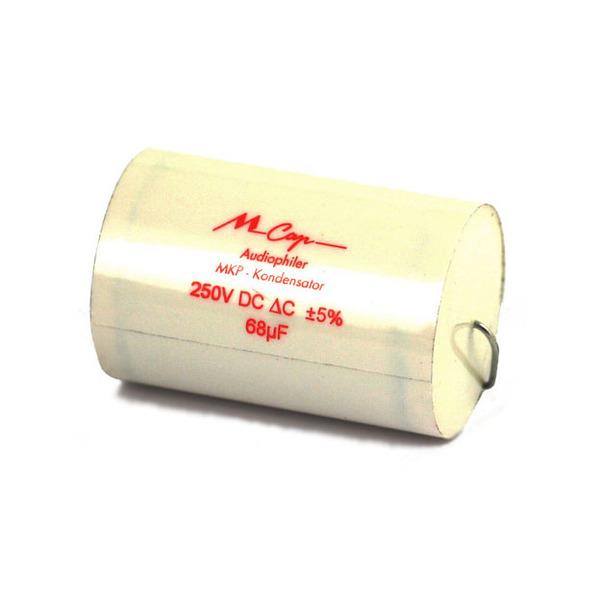 Конденсатор Mundorf MKP MCap 250 VDC 68 uF конденсатор mundorf mkp mcap supreme 600 vdc 0 68 uf