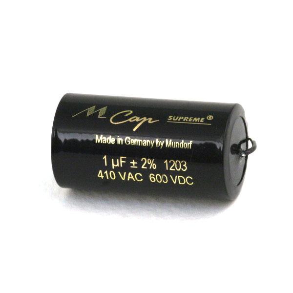 Конденсатор Mundorf MKP MCap Supreme 600 VDC 1 uF конденсатор mundorf mkp mcap supreme 600 vdc 0 68 uf