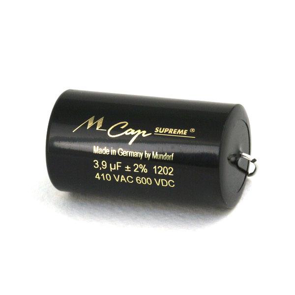 Конденсатор Mundorf MKP  MCap Supreme 600 VDC 3.9 uF конденсатор mundorf mkp mcap supreme 600 vdc 0 68 uf