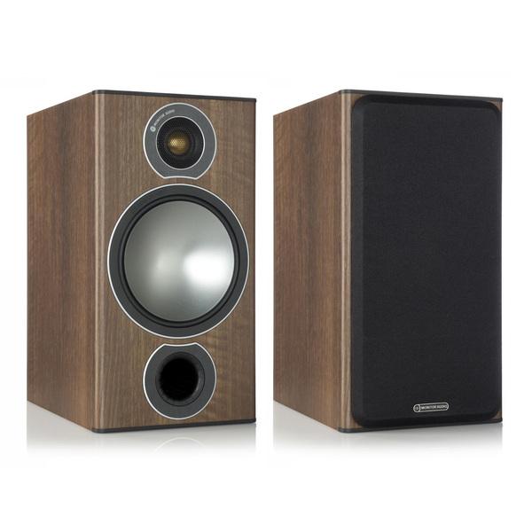 Полочная акустика Monitor Audio Bronze 2 Walnut (уценённый товар) всепогодная акустика polk audio atrium sat 30 brown уценённый товар