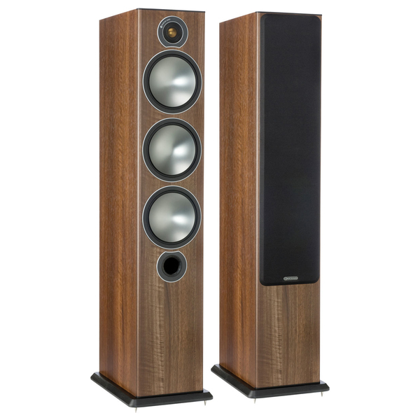 Напольная акустика Monitor Audio Bronze 6 Walnut акустика центрального канала paradigm prestige 45c black walnut