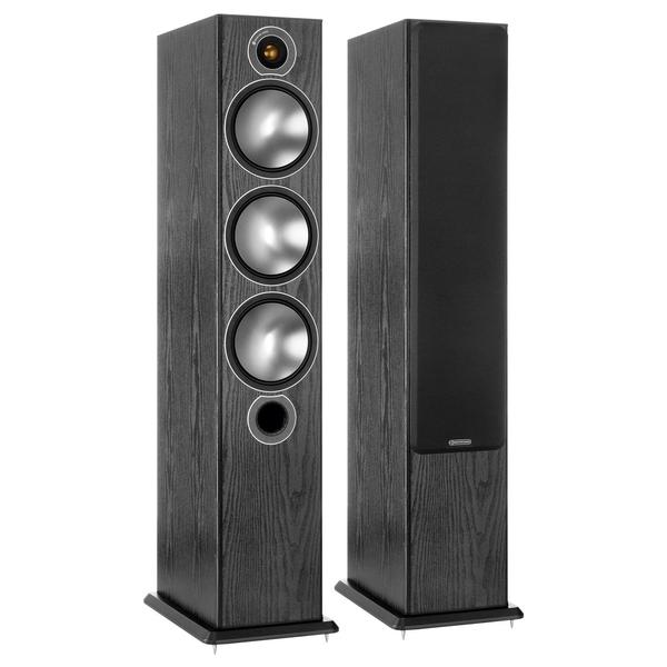 лучшая цена Напольная акустика Monitor Audio Bronze 6 Black Oak (уценённый товар)