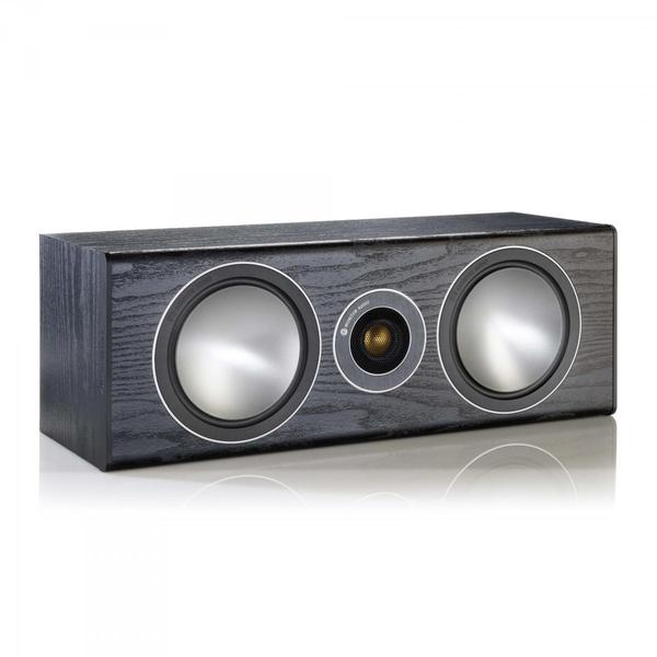 Центральный громкоговоритель Monitor Audio Bronze Centre Black Oak акустика центрального канала asw opus c 14 dark oak eggshell black