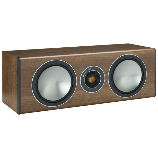 Центральный громкоговоритель Monitor Audio Bronze Centre Walnut центральный канал monitor audio bronze centre white ash