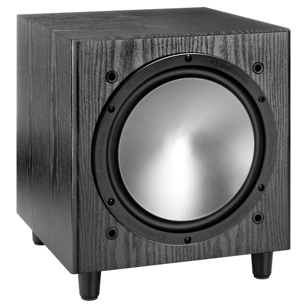 Активный сабвуфер Monitor Audio Bronze W10 Black Oak активный сабвуфер monitor audio platinum plw215 ii black gloss