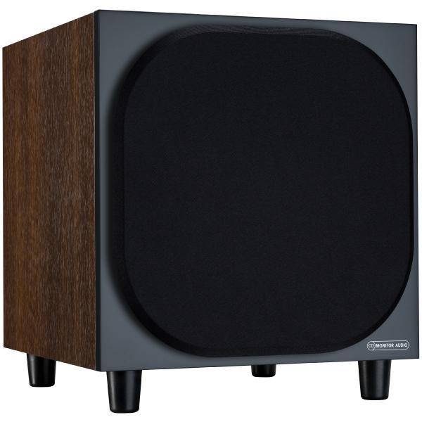 Активный сабвуфер Monitor Audio Bronze W10 6G Walnut активный сабвуфер monitor audio bronze w10 6g white