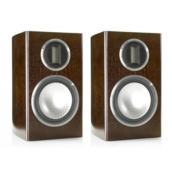 Полочная акустика Monitor Audio Gold 100 Dark Walnut audio physic step 25 walnut