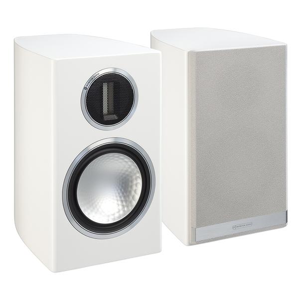 Полочная акустика Monitor Audio Gold 100 Piano White центральный громкоговоритель monitor audio gold c150 piano black