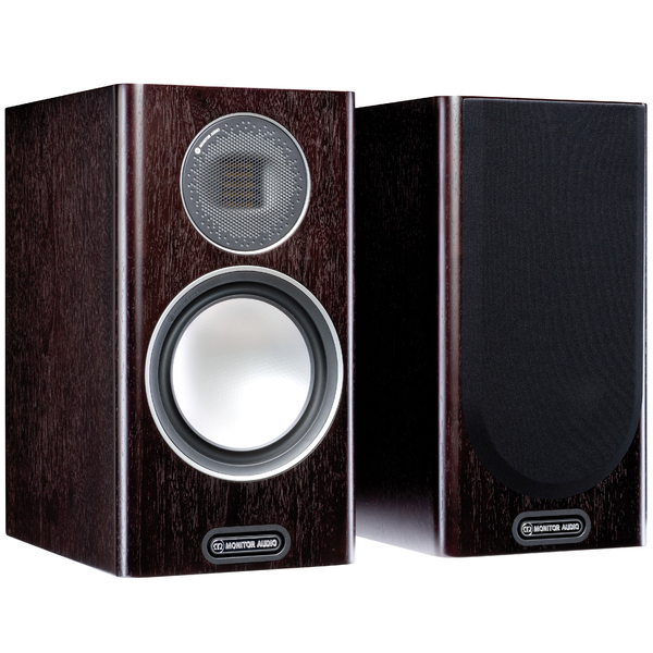 Полочная акустика Monitor Audio Gold 100 5G Dark Walnut полочные колонки monitor audio silver fx 6g walnut