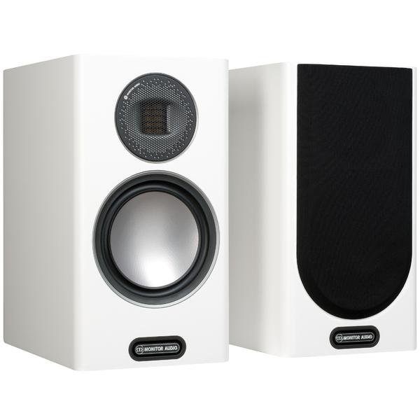 цены Полочная акустика Monitor Audio Gold 100 5G Satin White