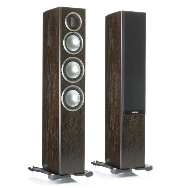 Напольная акустика Monitor Audio Gold 200 Dark Walnut центральный громкоговоритель monitor audio gold c150 piano black