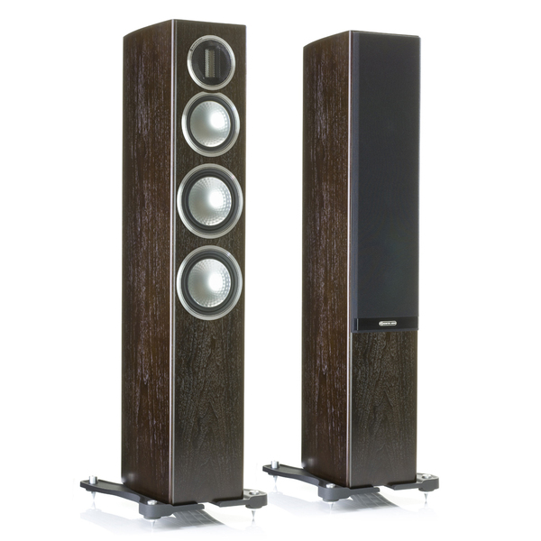 Напольная акустика Monitor Audio Gold 200 Dark Walnut акустика центрального канала paradigm prestige 45c black walnut
