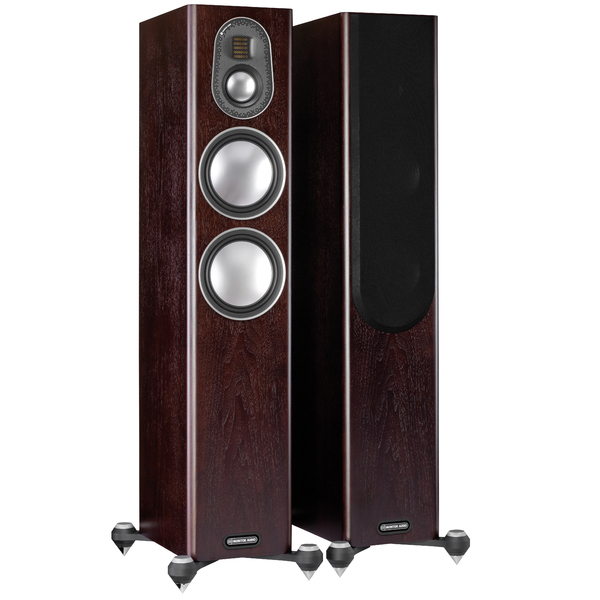 Напольная акустика Monitor Audio Gold 200 5G Dark Walnut delucci mbn 06103 dark brown walnut