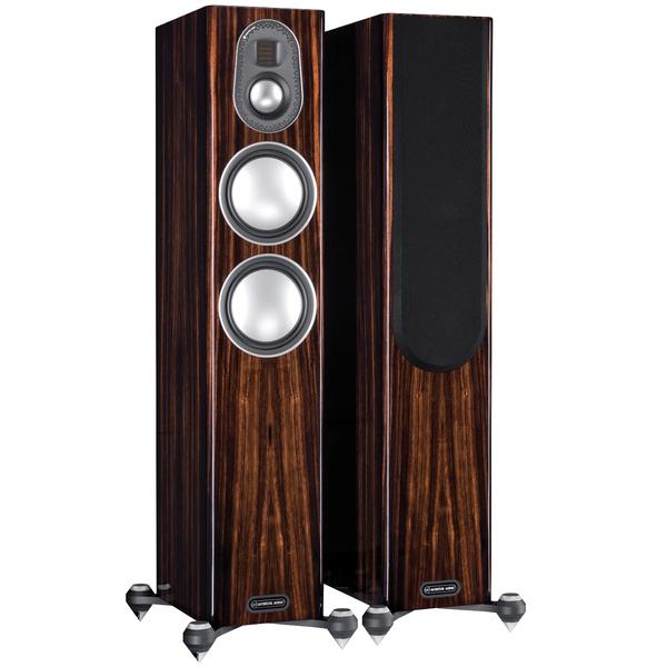 Напольная акустика Monitor Audio Gold 200 5G Piano Ebony центральный громкоговоритель monitor audio gold c350 piano white