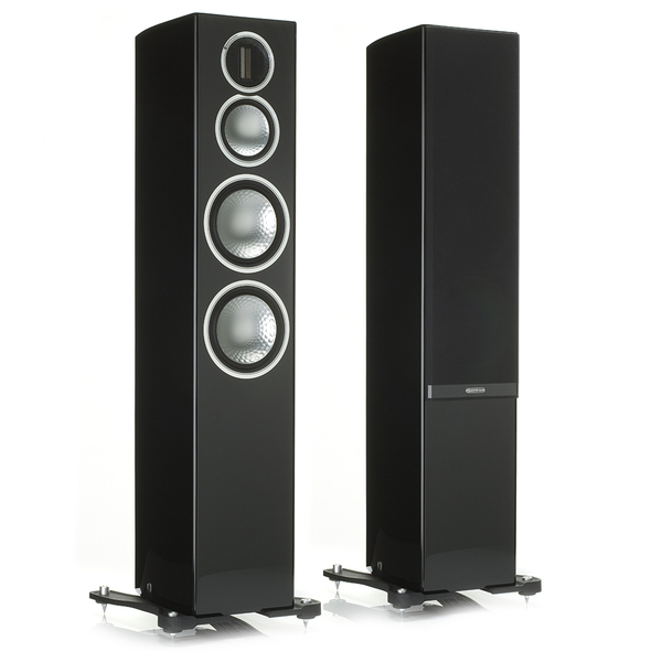 Напольная акустика Monitor Audio Gold 300 Piano Black напольная акустика morel octave 6 le floorstand l piano black