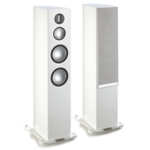 Напольная акустика Monitor Audio Gold 300 Piano White monitor 19