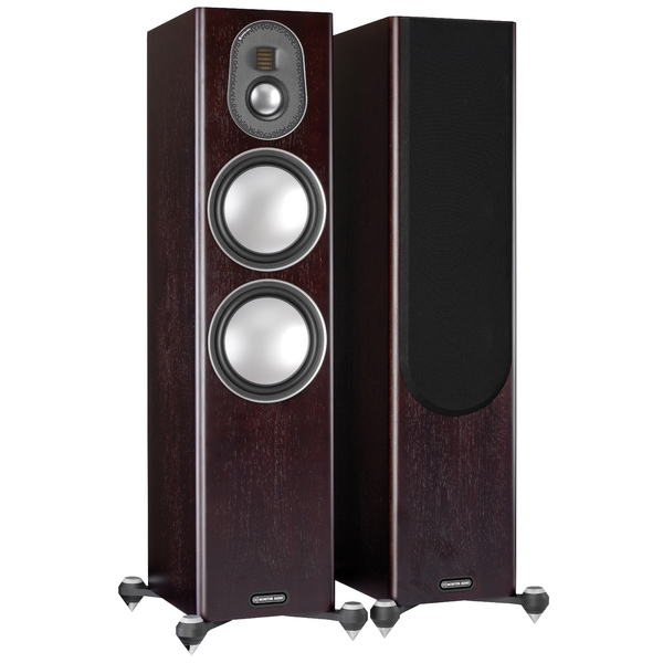 Напольная акустика Monitor Audio Gold 300 5G Dark Walnut delucci mbn 06103 dark brown walnut