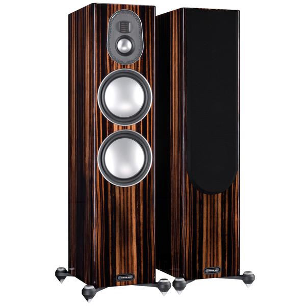 Напольная акустика Monitor Audio Gold 300 5G Piano Ebony центральный громкоговоритель monitor audio gold c350 piano white