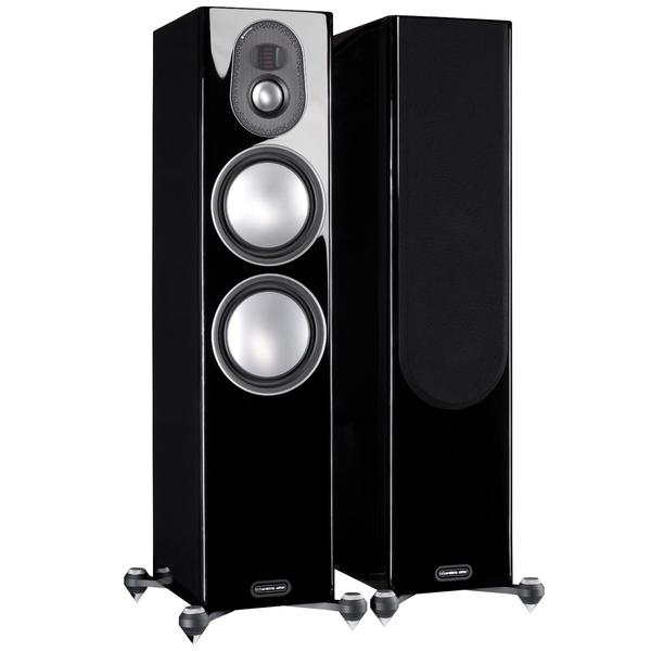 Напольная акустика Monitor Audio Gold 300 5G Piano Black центральный громкоговоритель monitor audio gold c350 piano white