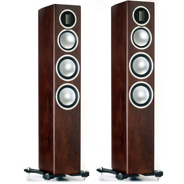 Напольная акустика Monitor Audio Gold 300 Dark Walnut акустика центрального канала paradigm prestige 45c black walnut