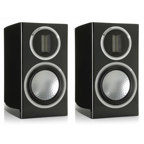 Полочная акустика Monitor Audio Gold 50 Piano Black центральный громкоговоритель monitor audio gold c150 piano black