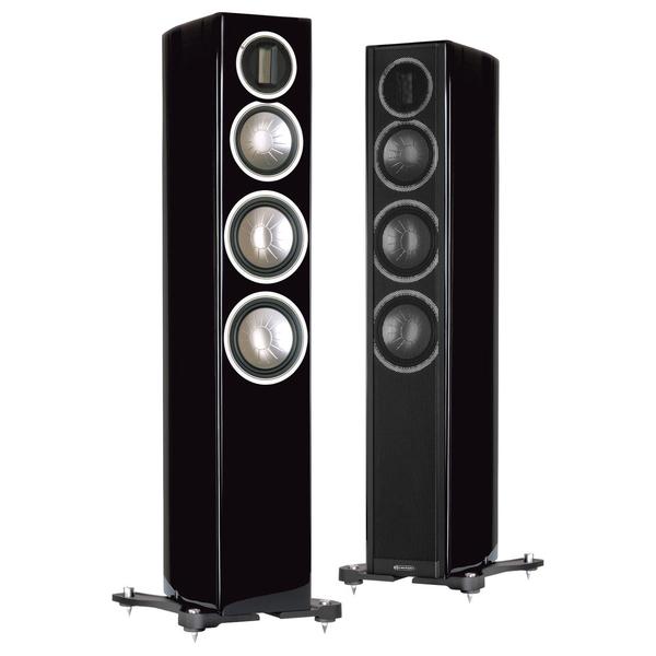 Напольная акустика Monitor Audio Gold GX200 Piano Black акустика центрального канала paradigm prestige 45c piano black
