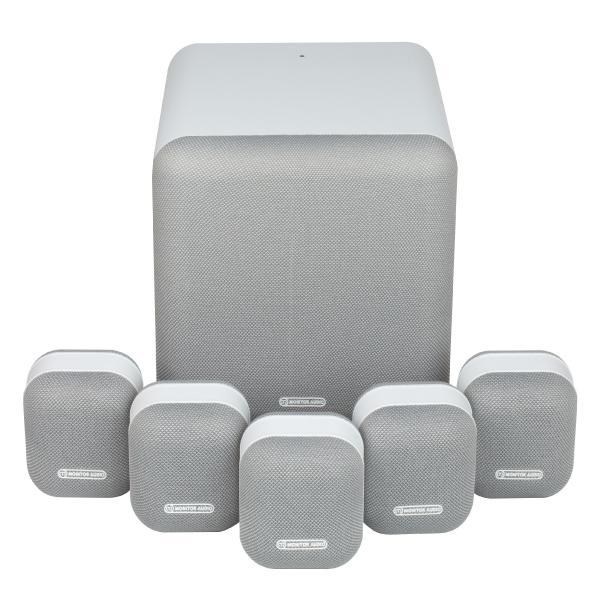 Комплект акустики Monitor Audio 5.1 MASS Surround Sound Mist White (уценённый товар)