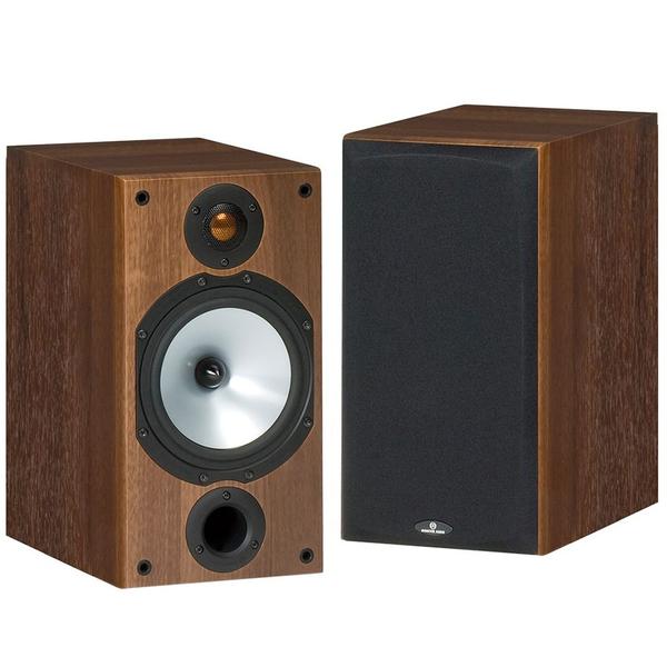 Полочная акустика Monitor Audio MR2 Walnut (уценённый товар) полочная акустика kef c3 black уценённый товар