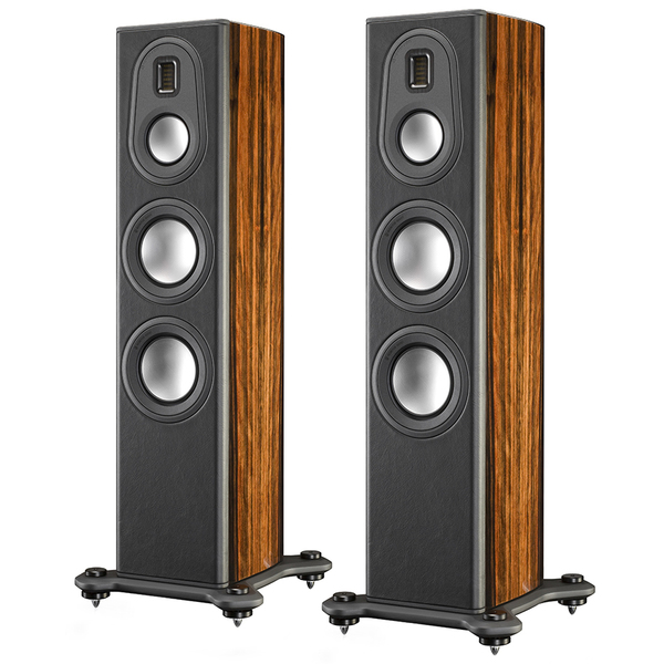 Напольная акустика Monitor Audio Platinum PL200 II Ebony активный сабвуфер monitor audio platinum plw215 ii ebony