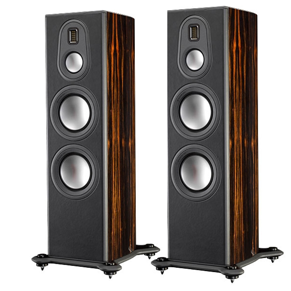 Напольная акустика Monitor Audio Platinum PL300 II Ebony активный сабвуфер monitor audio platinum plw215 ii ebony