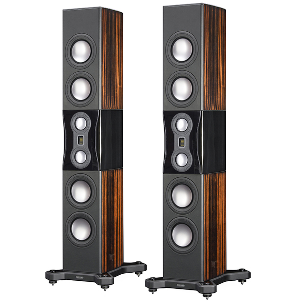 Напольная акустика Monitor Audio Platinum PL500 II Ebony активный сабвуфер monitor audio platinum plw215 ii ebony