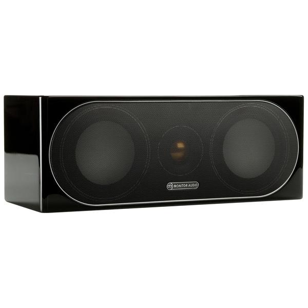 Центральный громкоговоритель Monitor Audio Radius 200 High Gloss Black настенная акустика monitor audio radius 225 high gloss white