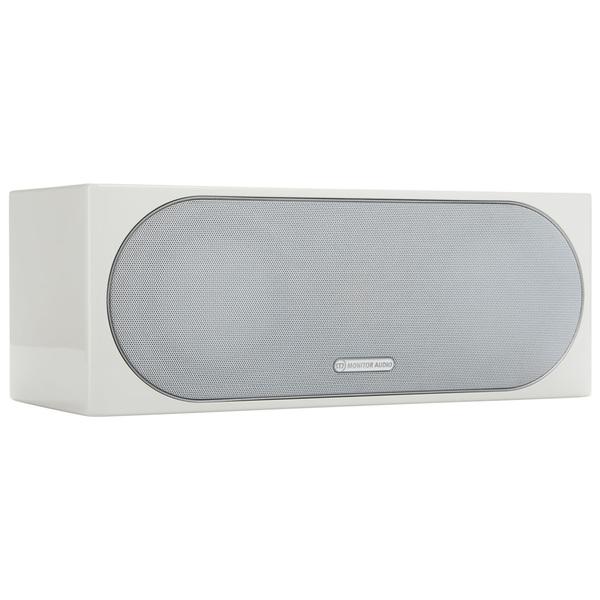 Центральный громкоговоритель Monitor Audio Radius 200 High Gloss White настенная акустика monitor audio radius 225 high gloss white