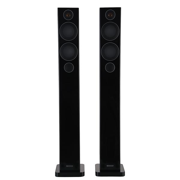 Напольная акустика Monitor Audio Radius 270 High Gloss Black настенная акустика monitor audio radius 225 high gloss white