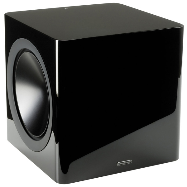 Активный сабвуфер Monitor Audio Radius 390 High Gloss Black активный сабвуфер legacy audio goliath xd black oak