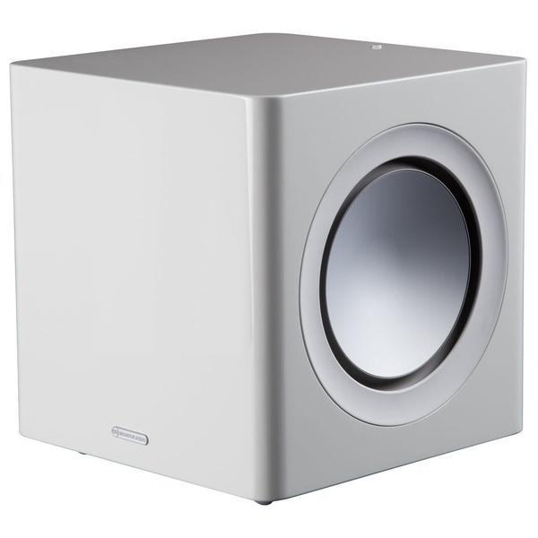 Активный сабвуфер Monitor Audio Radius 390 High Gloss White настенная акустика monitor audio radius 225 high gloss white