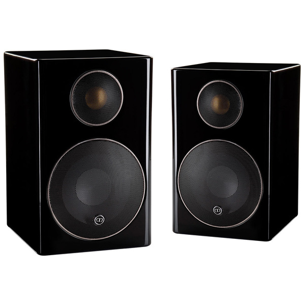 Полочная акустика Monitor Audio Radius 90 High Gloss Black настенная акустика monitor audio radius 225 high gloss white